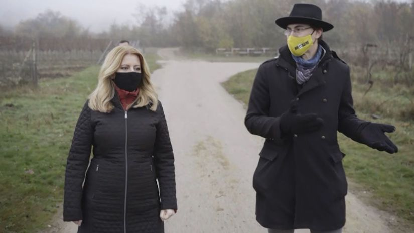 reziser Peter Pokojny a prezidentka Zuzana...