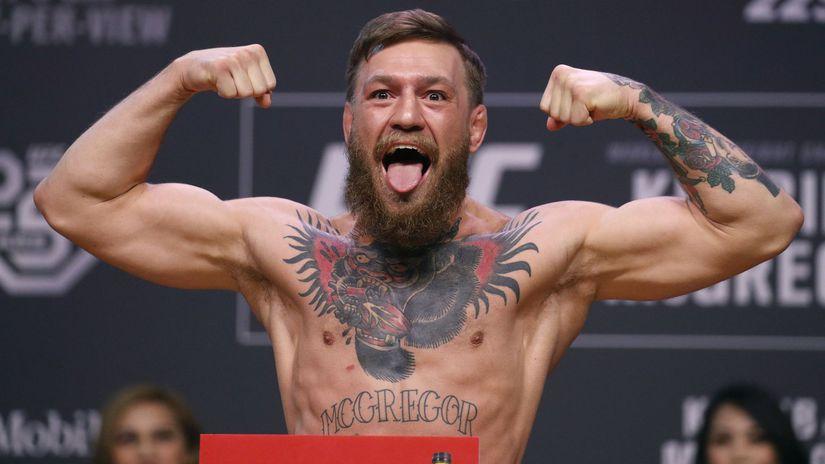 USA MMA McGregor kariéra koniec