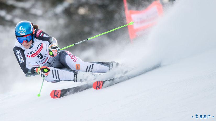 Slovinsko Lyžovanie SP obrovský slalom vlhová