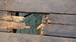 premostenie, Hornad, Velka Lodina, Kysak, most, dosky, konstrukcia