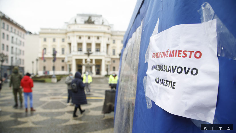 Bratislava koronavírus testovanie skríning