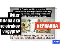 hoax koronavírus egypt