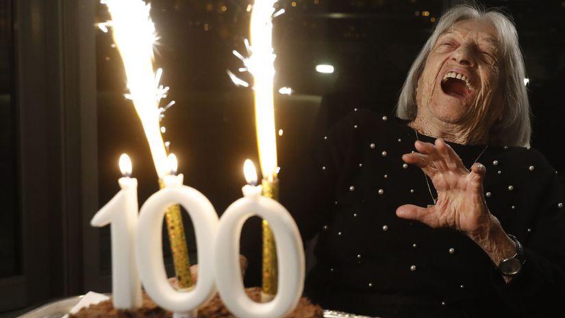 Ágnes Keleti, 100, sto rokov, sté narodeniny