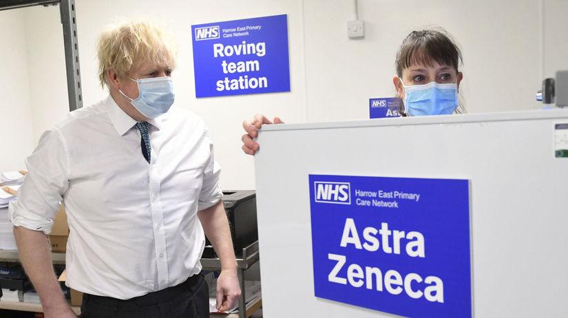 koronavírus, Boris Johnson, vakcína
