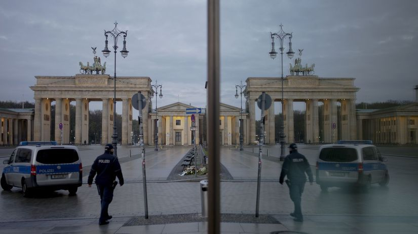 Berlín / Brandenburská brána /