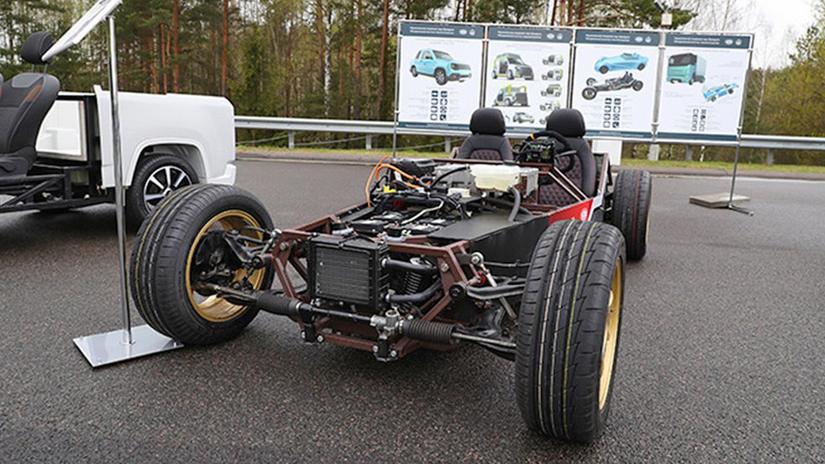 elektromobil bieloruský