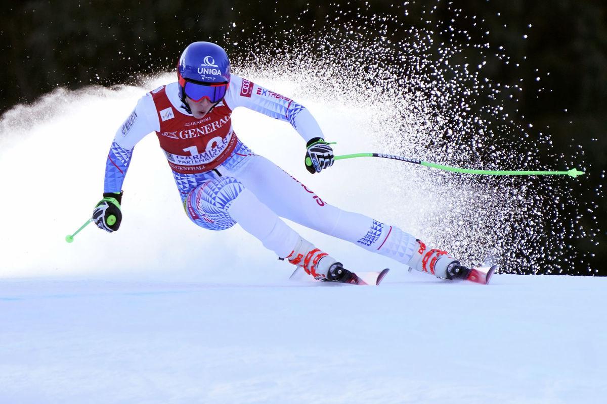 Nemecko lyžovanie SP tréning zjazd vlhová