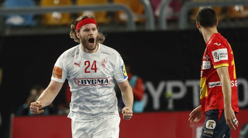 Egypt hádzaná muži MS semifinále Španielsko Dánsko