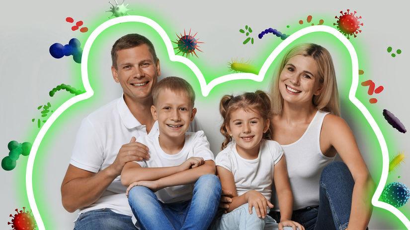 imunita, rodina