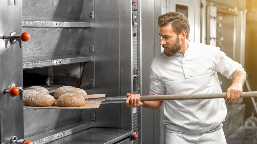 pekár, chlieb, pečivo