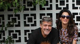 People-George Clooney, Amal Clooney