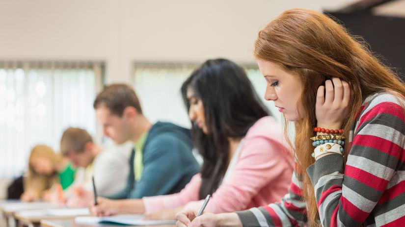 skúška, test, písanie, scio, prijímačky