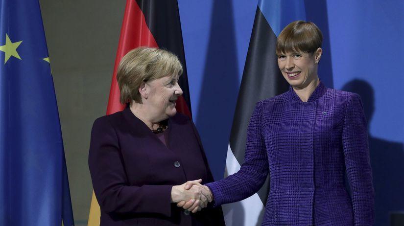 Kersti Kaljulaidová, prezidentka, Estónsko,...