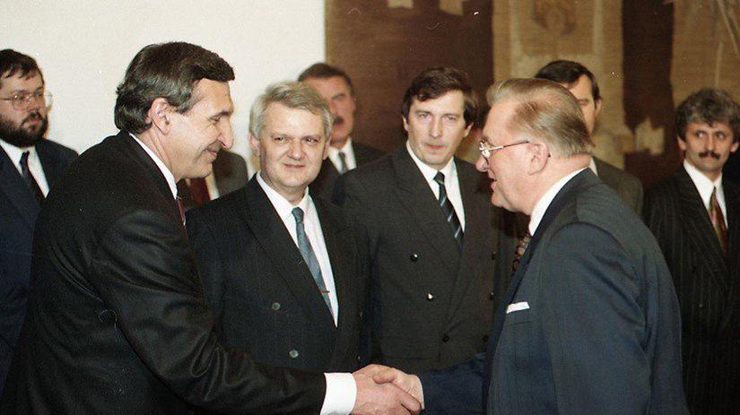 Jozef Moravčík, Michal Kováč, Mikuláš Dzurinda,...