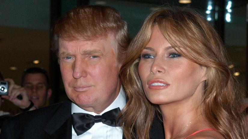 Melania Trumpová, Donald Trump