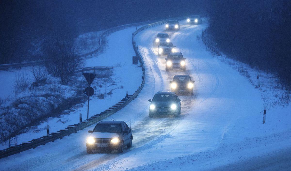nemecko počasie sneh
