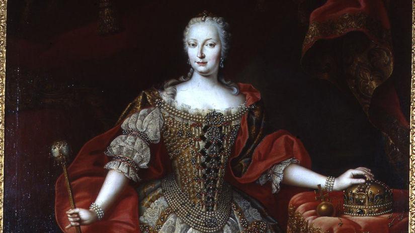 Mária Terézia, portrét