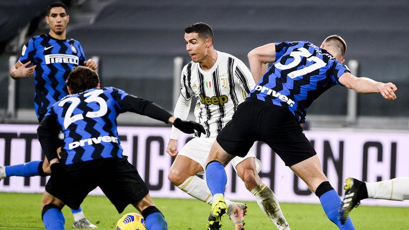 Milan Škriniar Cristiano Ronaldo