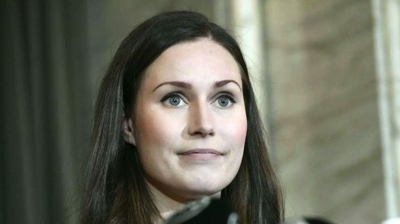 Sanna Marinová, Fínsko, premiérka
