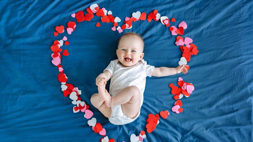 dieťa, bábätko, láska, syn, dcéra, valentín