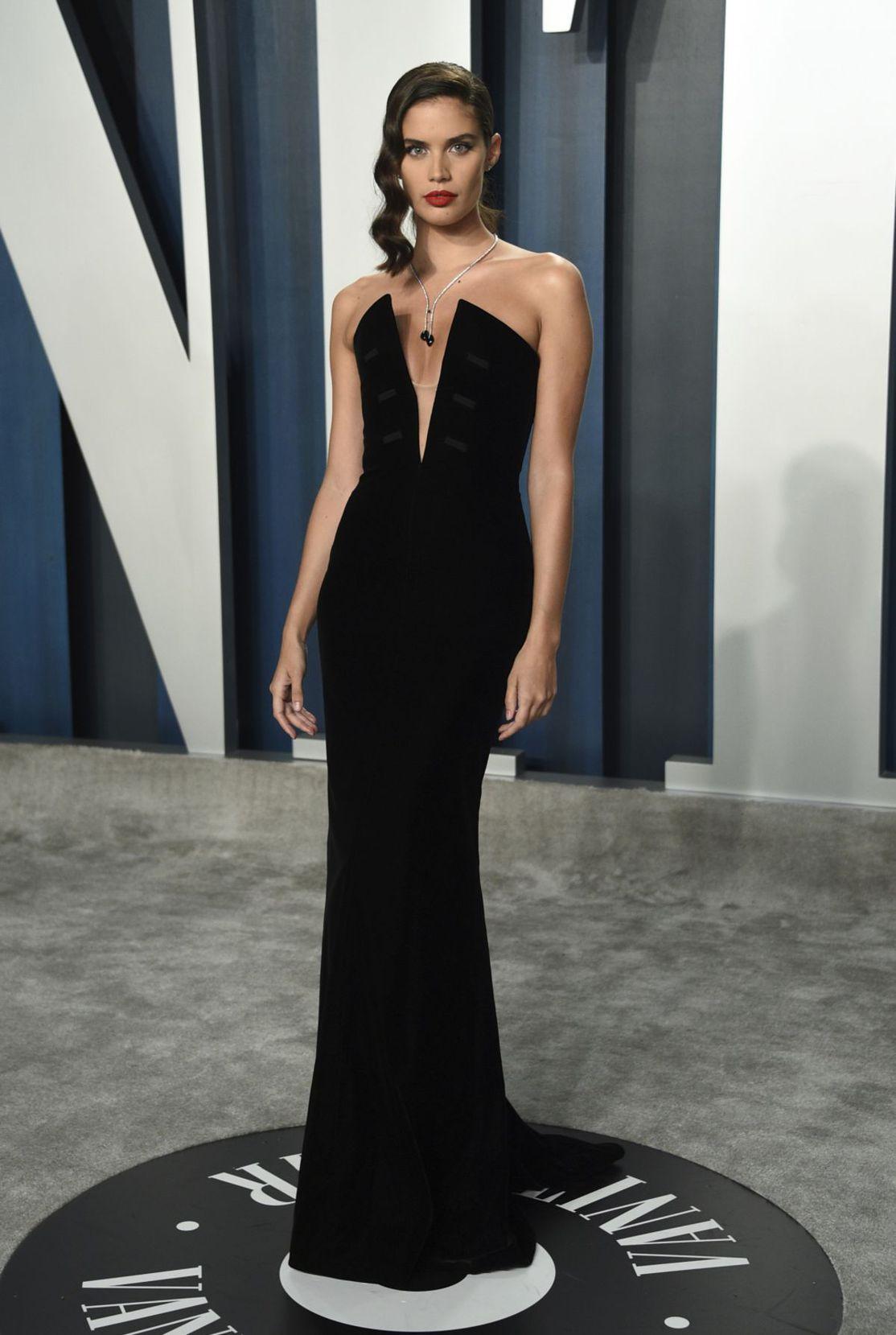 Modelka Sara Sampaio na zábere z februára 2020.