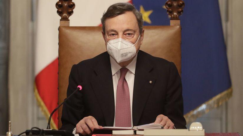 taliansko Draghi