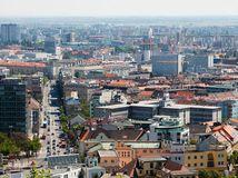 bratislava, mesto, panorama