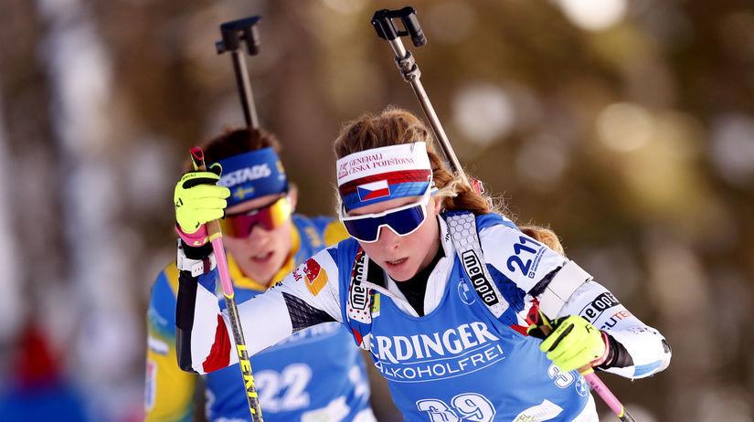 Slovenia Biathlon World Championships Davidová