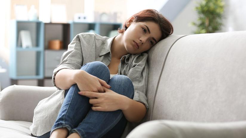 žena, depresia, smútok, invalidita