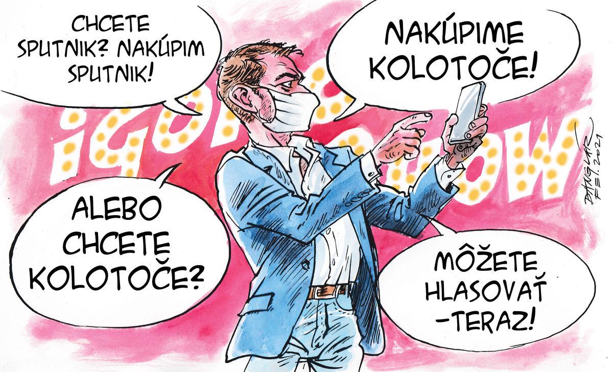 Karikatúra 19.02.2021