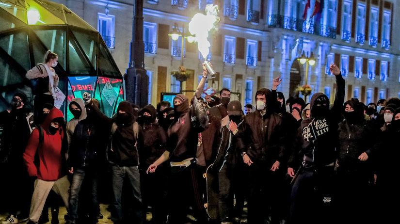 Spain-Rapper Protests