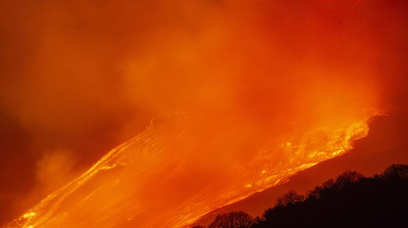 Etna erupcia