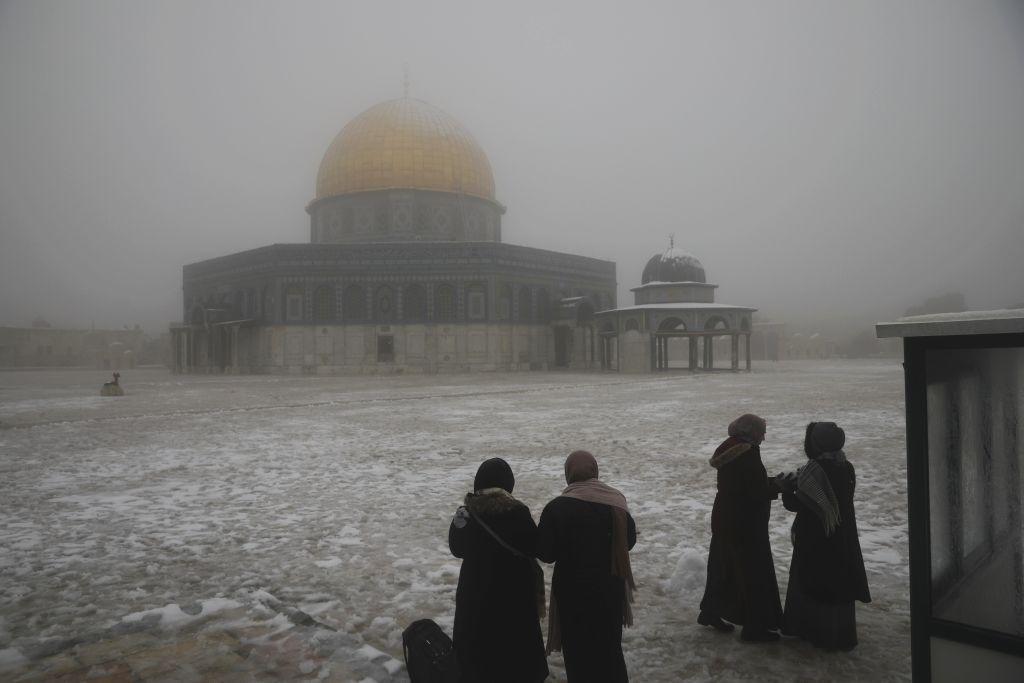 Izrael, Jeruzalem, sneh