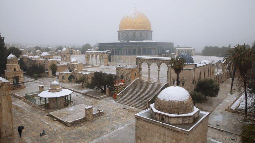 Izrael, sneh, Jeruzalem