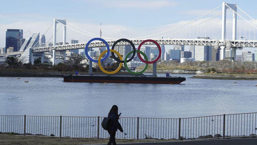 Tokio, olympijské kruhy