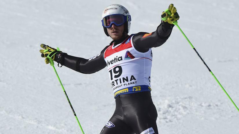 Taliansko MS alpské muži obrovský slalom