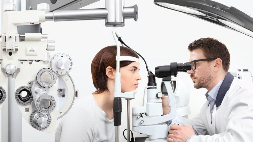 zrak, kontrola, preventívna prehliadka, doktor,...