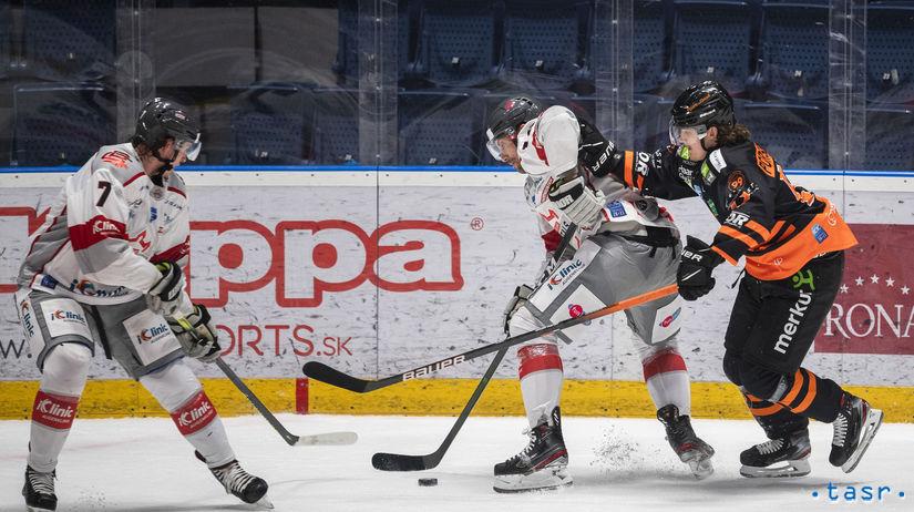 SR Bratislava Hokej IHL 42. kolo BAX Capitals