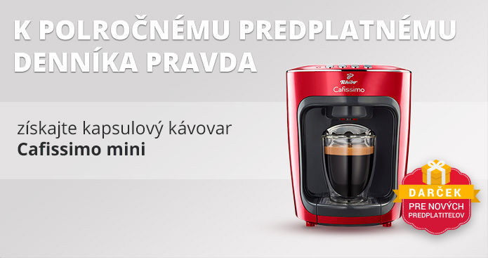 Polročné predplatné s kapsulovým kávovarom