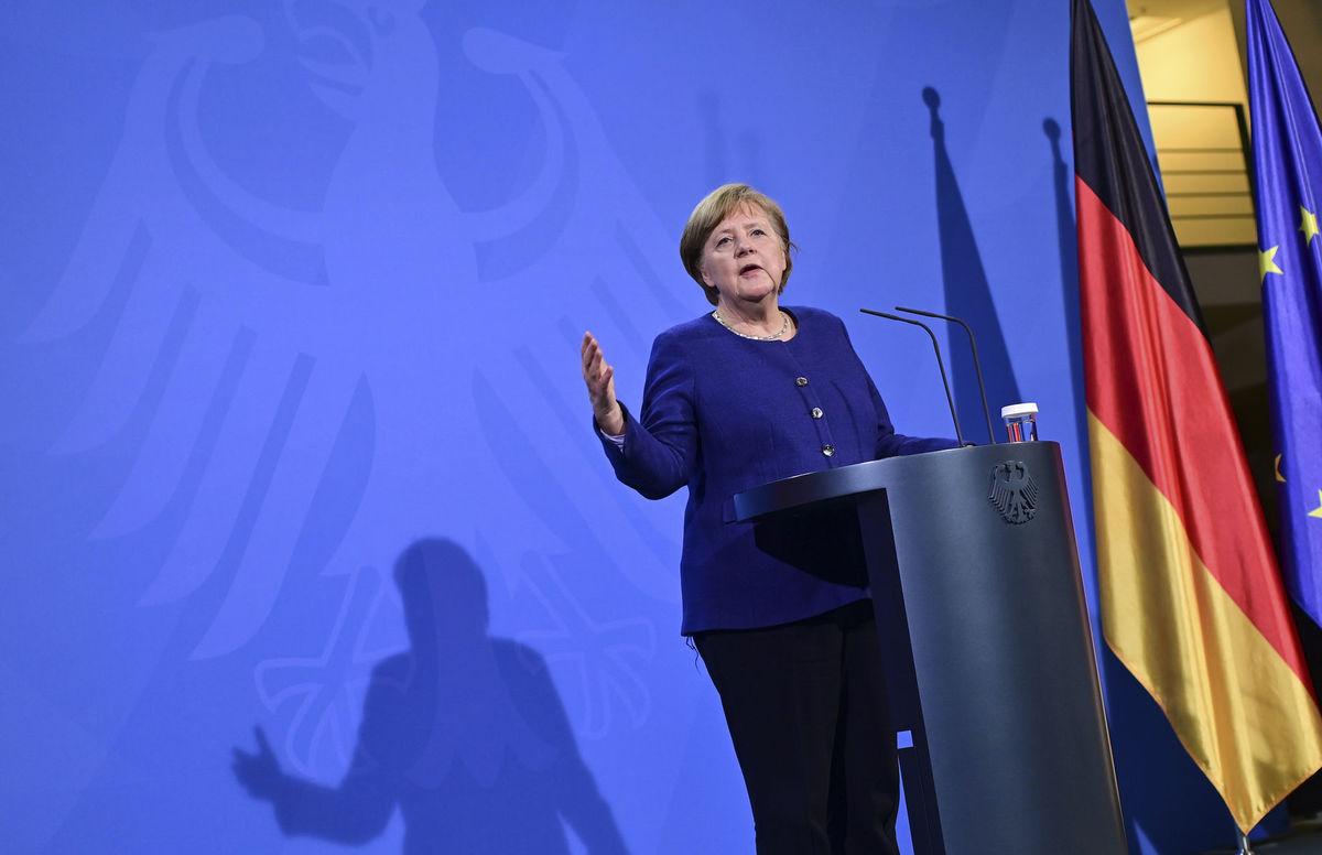 Nemecko Berlín EÚ summit Merkelová