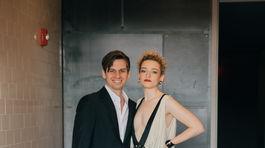 Mark Foster and Julia Garner 78th Annual Golden Globe Awards LA 02.28.2021