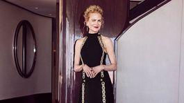 Herečka Nicole Kidman v kreácii Louis Vuitton.
