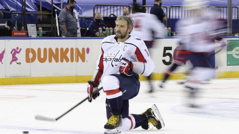 Capitals Rangers Hockey Ovečkin