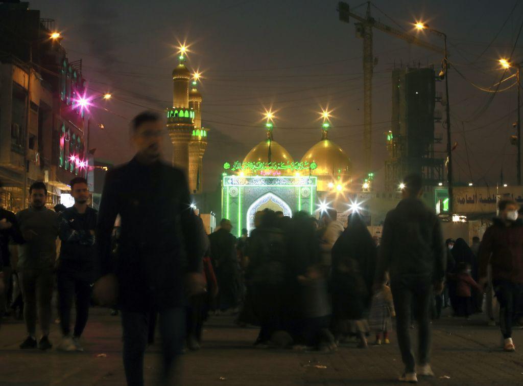 Irak, mešita, Bagdad, moslimovia, islam
