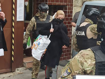 Jankovská bola na slobode len pár sekúnd, po zadržaní sa zrútila