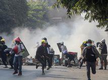 Mjanmarsko demonštrácie