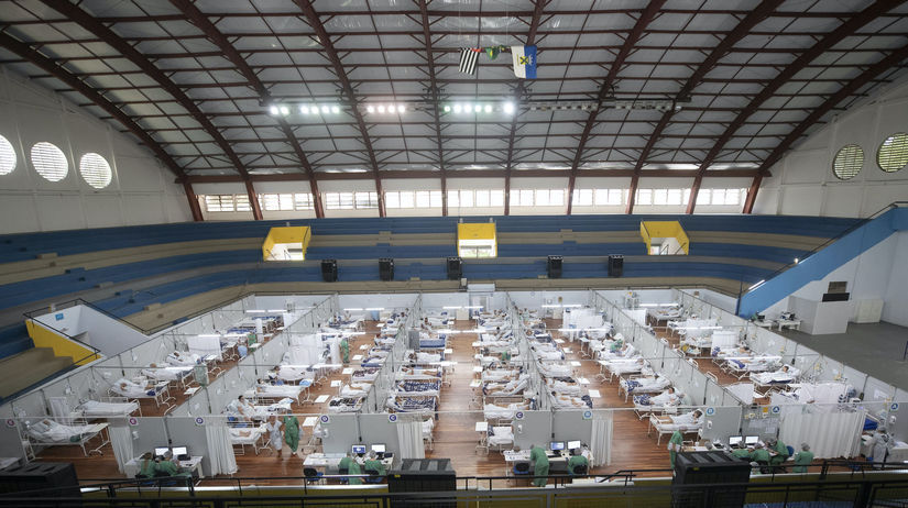 koronavírus, Brazília
