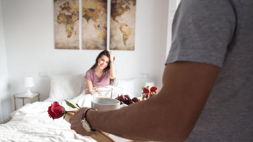 raňajky do postele, darček, prekvapenie,...