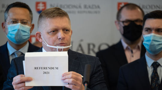Referendum 2021, Robert Fico