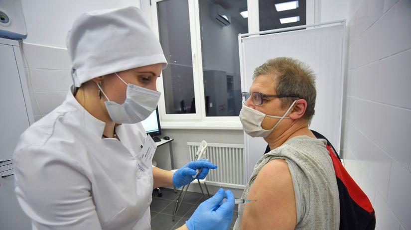 Sputnik V, očkovanie, Moskva